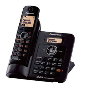 Cordless Phone with Base dial in and Speaker