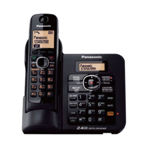 Cordless Phone with Base dial in and Speaker and digital answering machine